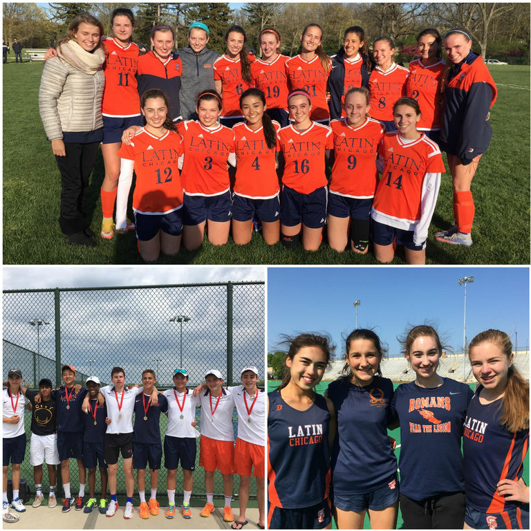 ISL Champions in Girls Soccer, Girls Track and Boys Tennis