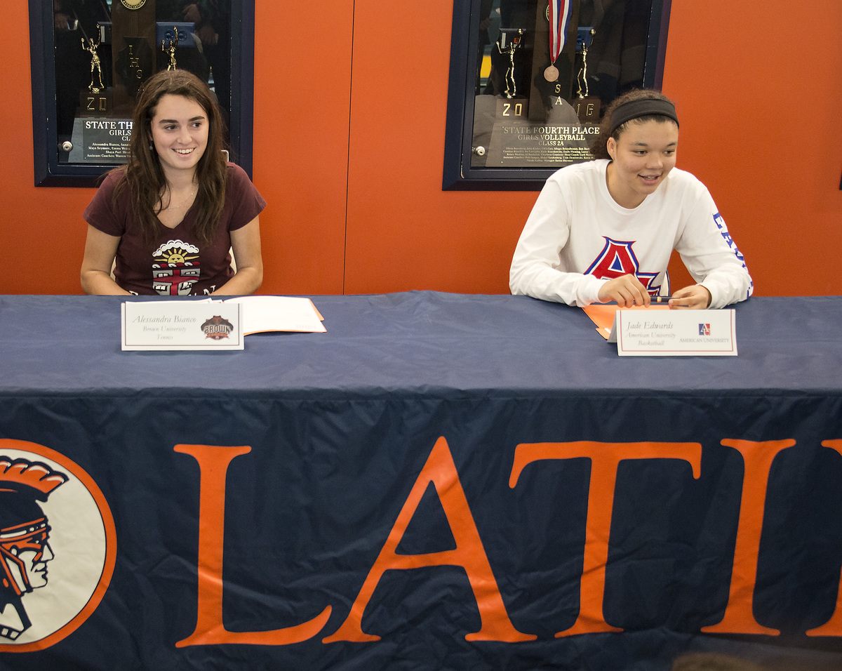Student Athletes College Signing Day