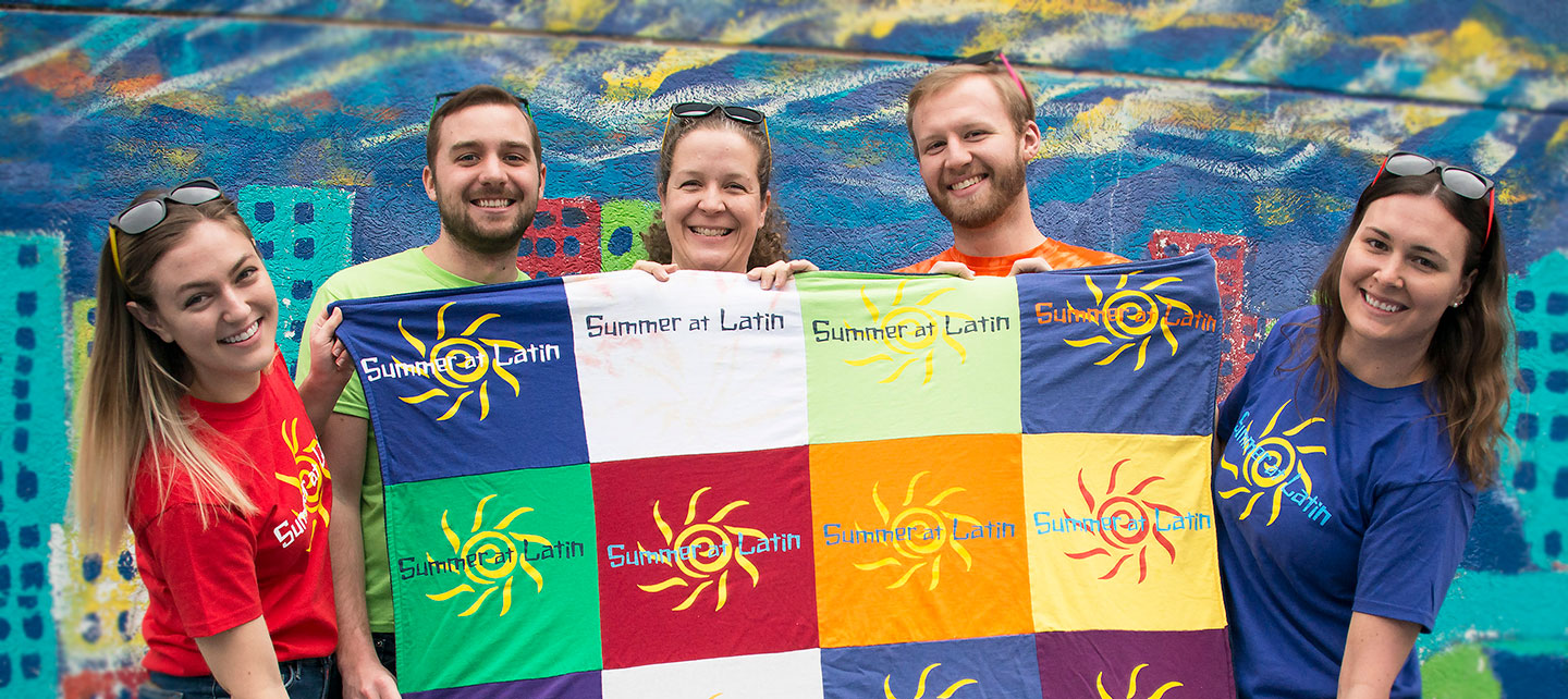 Summer at Latin team members